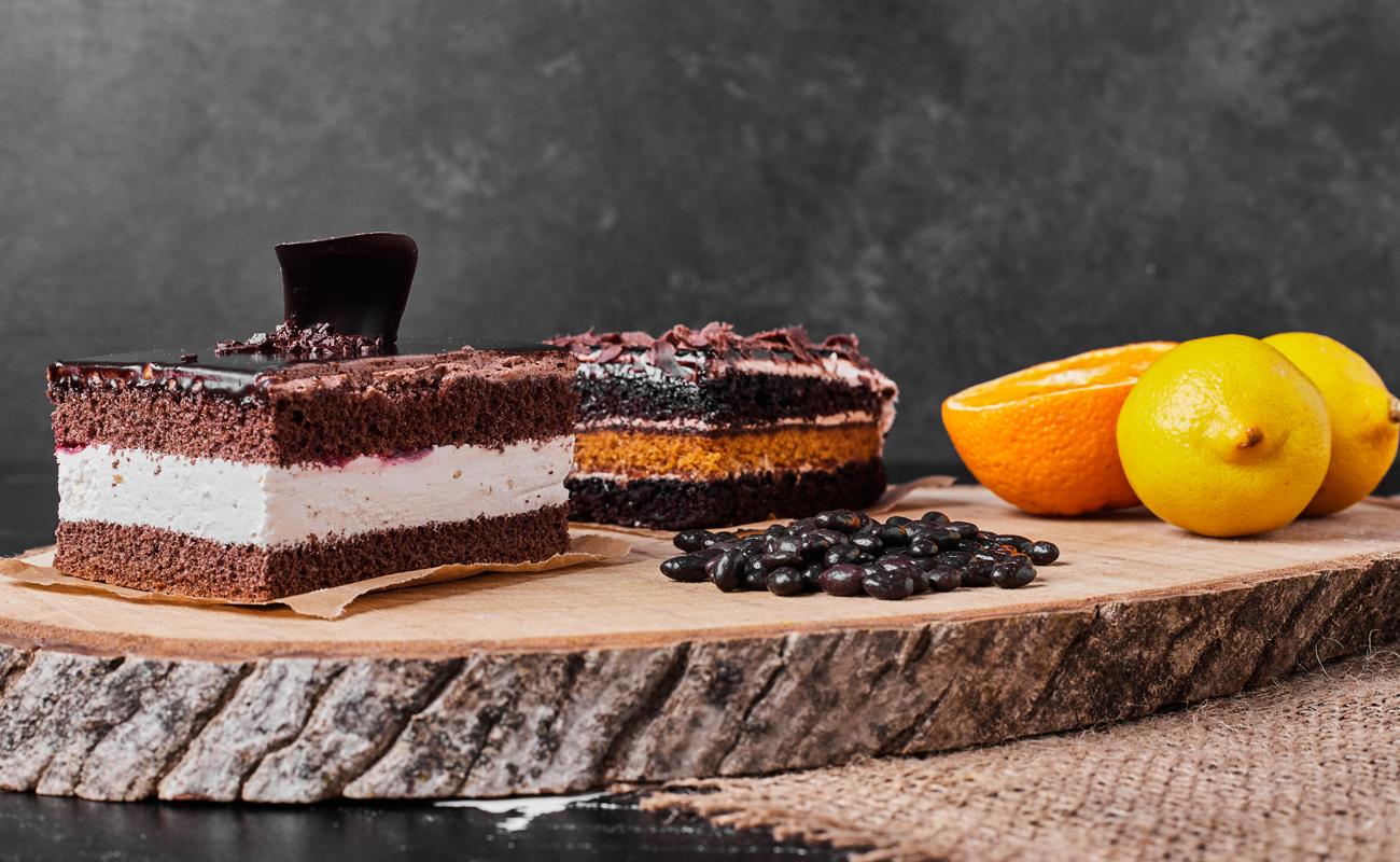 square-cake