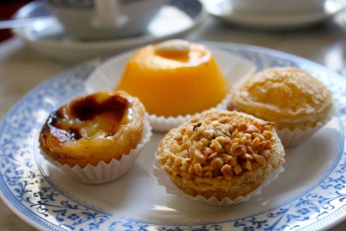 Des pâtisseries portugaises